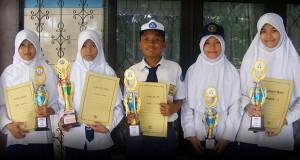 SIswa-Siswi Pemenang FLS2N Tingkat Kota Bandar Lampung