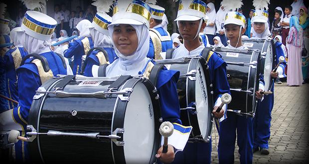 Penampilan Drumband SMP Al Kautsar