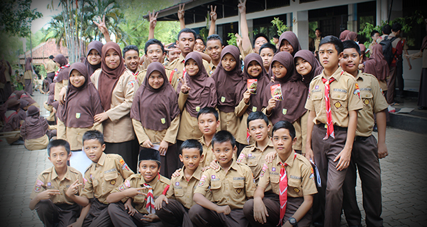 Pramuka SMP Al Kautsar Bandar Lampung