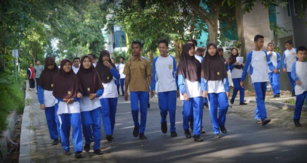 Jalan sehat SMP Al Kautsar