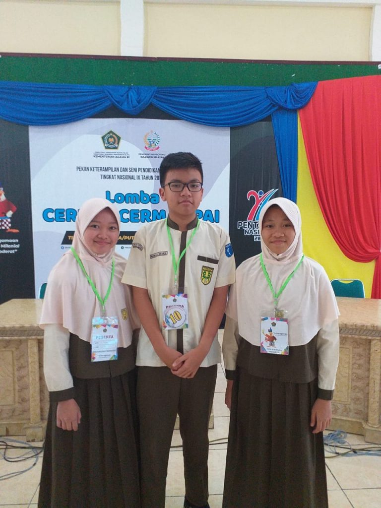 Peserta Pentas PAI SMP AL Kautsar Bandar Lampung